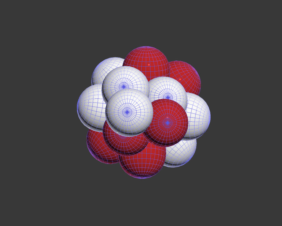 Balloons royalty-free 3d model - Preview no. 4