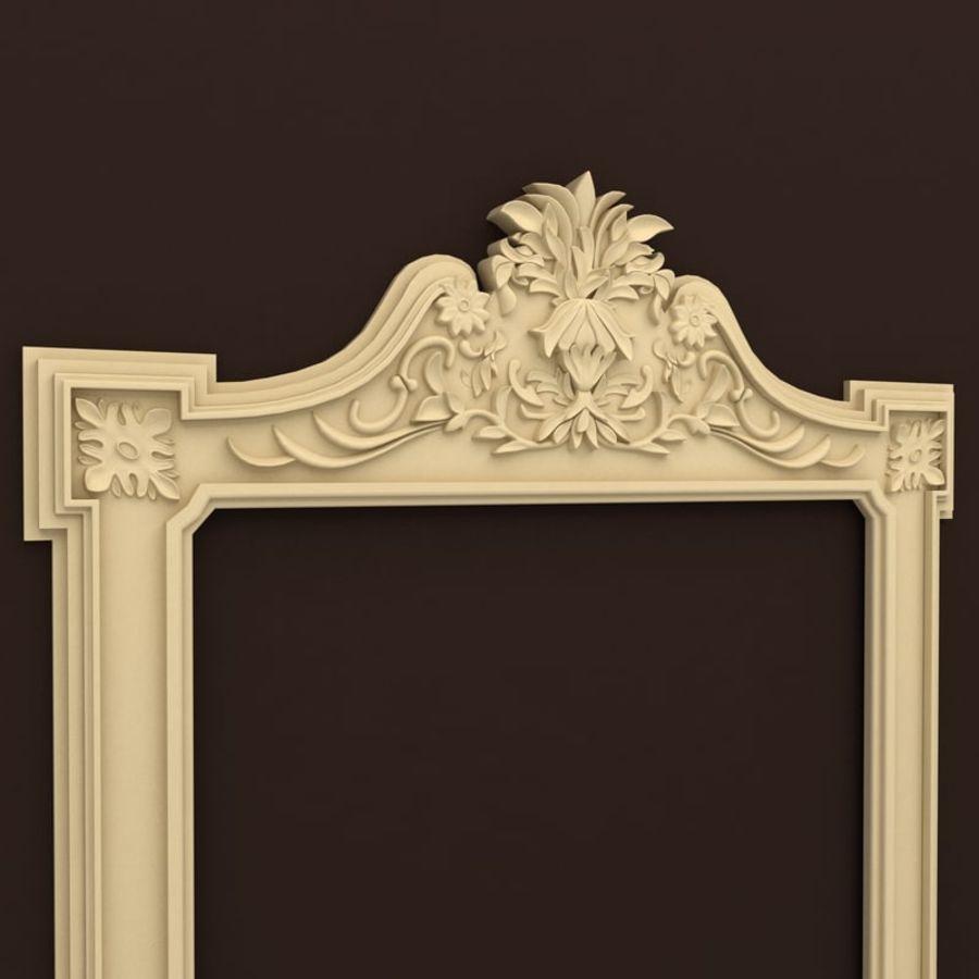Décor de miroir royalty-free 3d model - Preview no. 2