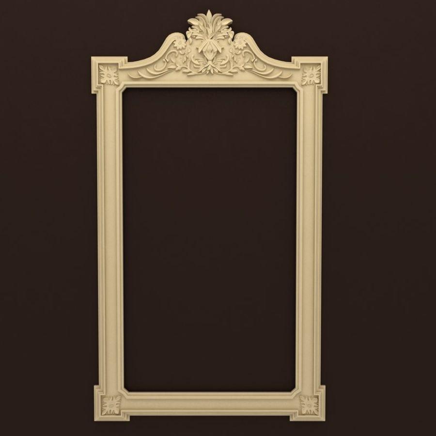 Décor de miroir royalty-free 3d model - Preview no. 1
