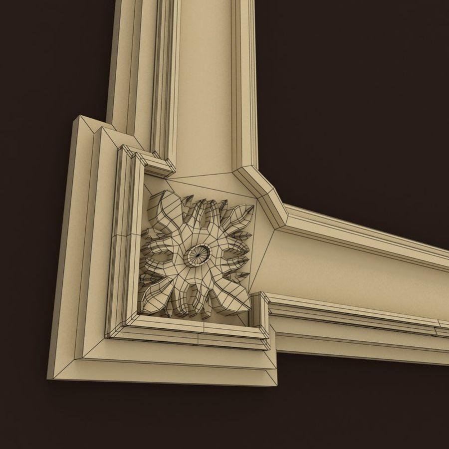 Décor de miroir royalty-free 3d model - Preview no. 5