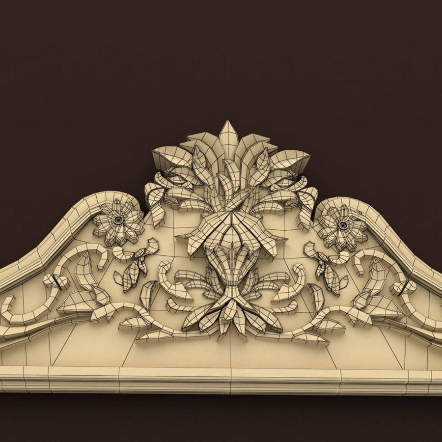 Décor de miroir royalty-free 3d model - Preview no. 7