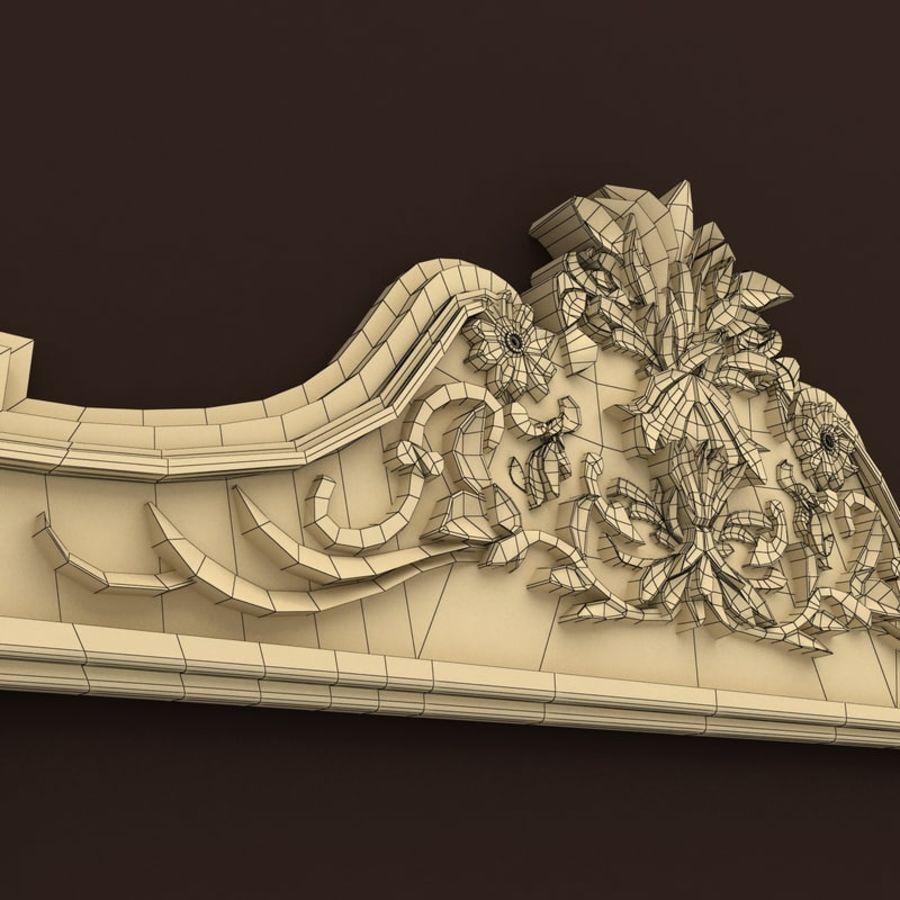 Décor de miroir royalty-free 3d model - Preview no. 6