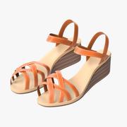 Sandals 02 3d model