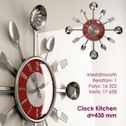Kitchen clock 3d model