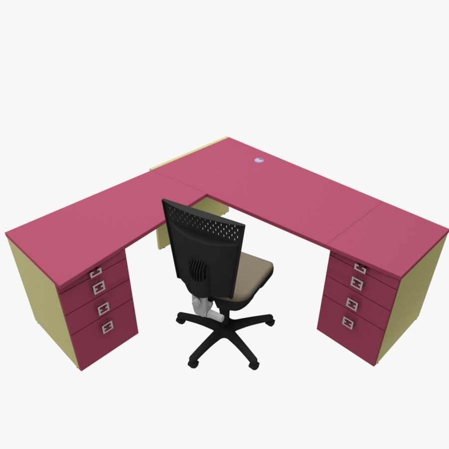 Office 109 royalty-free 3d model - Preview no. 10