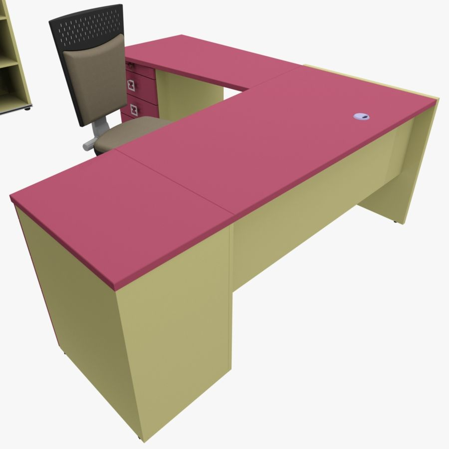 Office 109 royalty-free 3d model - Preview no. 5