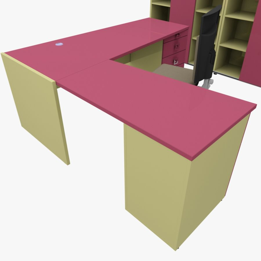 Office 109 royalty-free 3d model - Preview no. 8