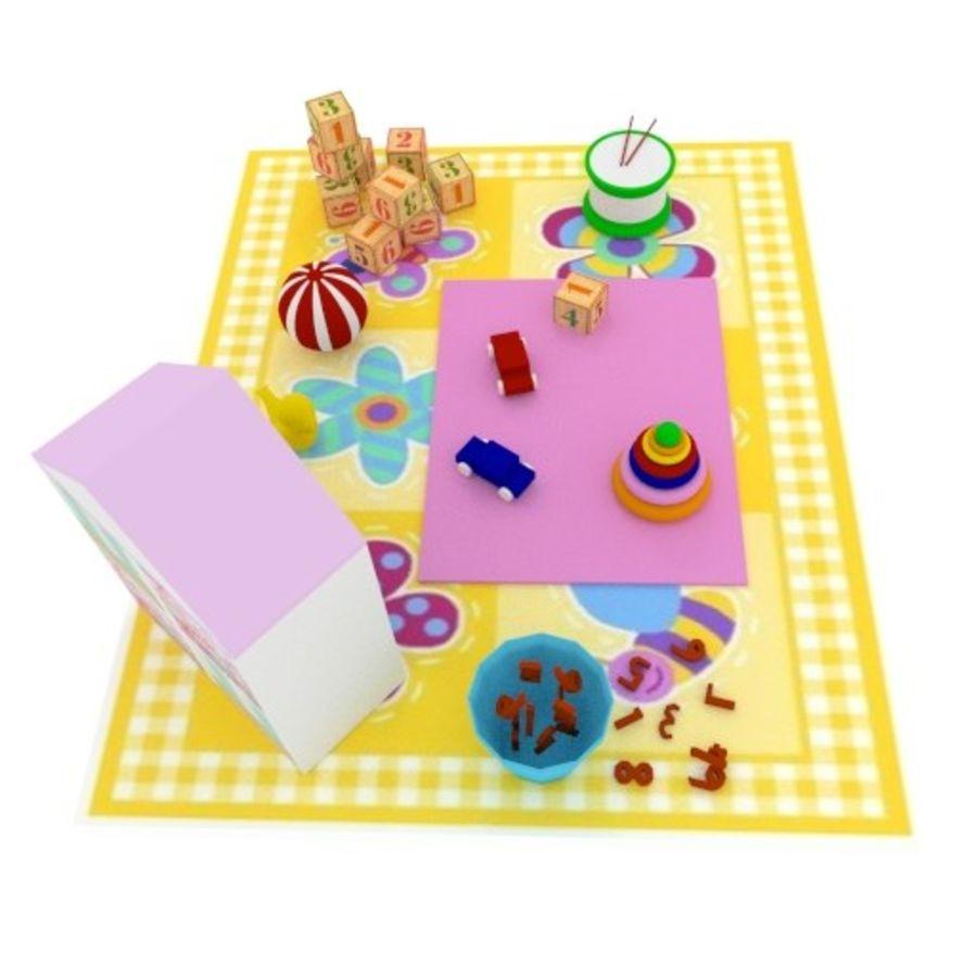 Игрушки детские вещи royalty-free 3d model - Preview no. 5