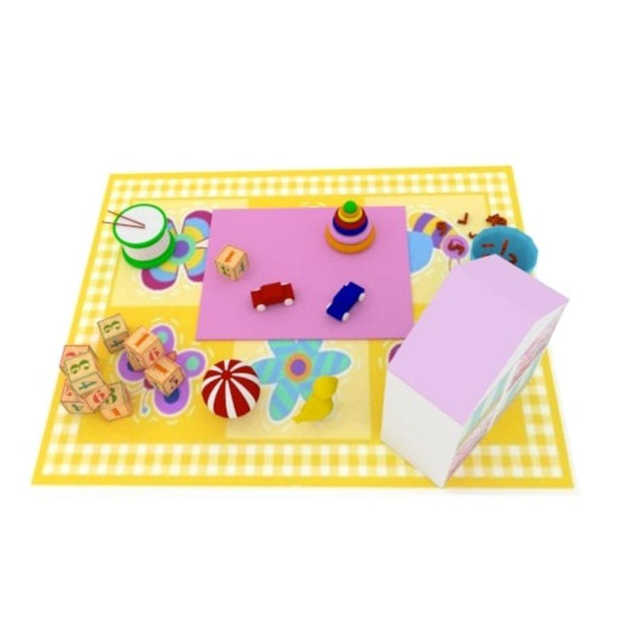 Игрушки детские вещи royalty-free 3d model - Preview no. 4