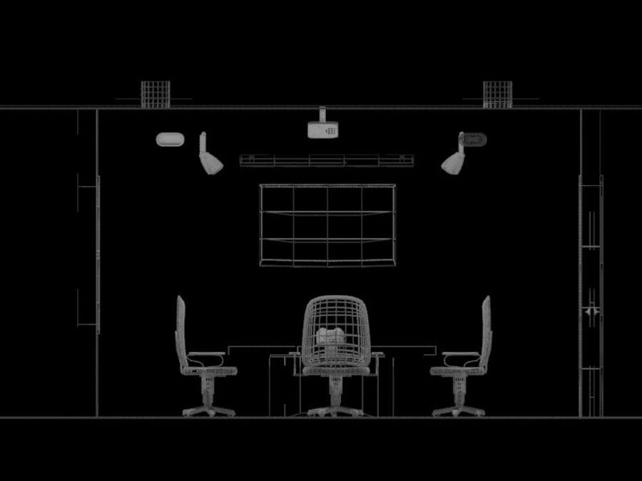 办公空间 royalty-free 3d model - Preview no. 11