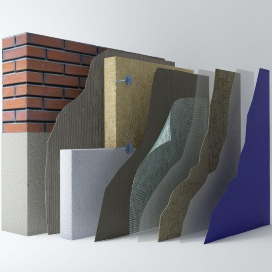 Brick wall royalty-free 3d model - Preview no. 1