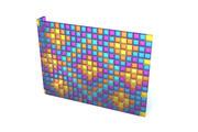 블록 벽 3d model