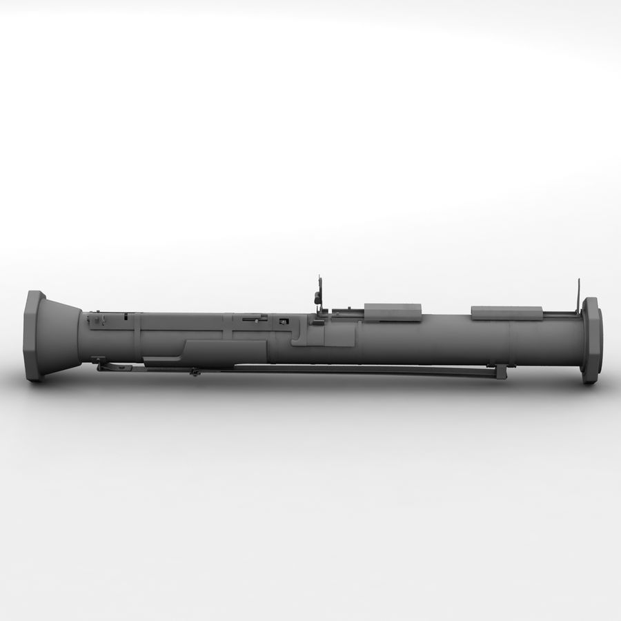 AT4 anti tank Grenade launcher royalty-free 3d model - Preview no. 16