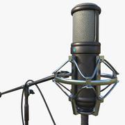 Mikrofon 3d model