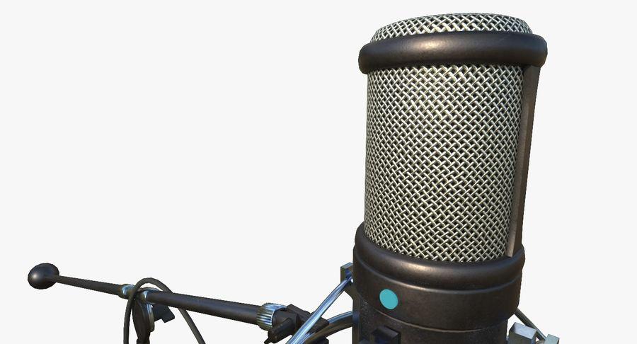Microfono royalty-free 3d model - Preview no. 3