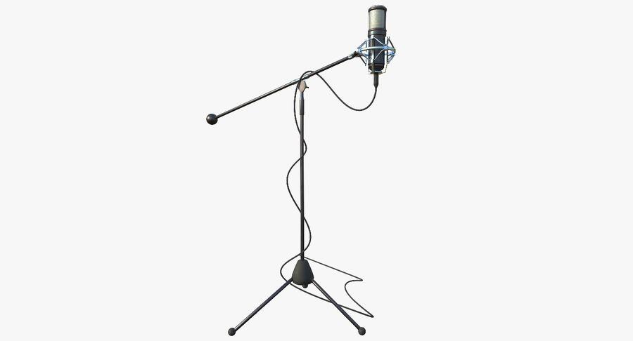 Microfono royalty-free 3d model - Preview no. 4