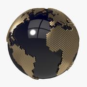 Earth_Honeycomb 3d model