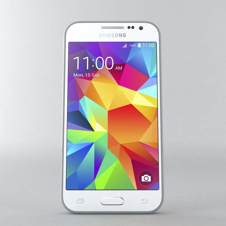 三星Galaxy Core Prime royalty-free 3d model - Preview no. 2