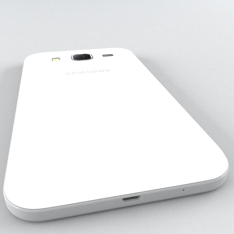 三星Galaxy Core Prime royalty-free 3d model - Preview no. 7