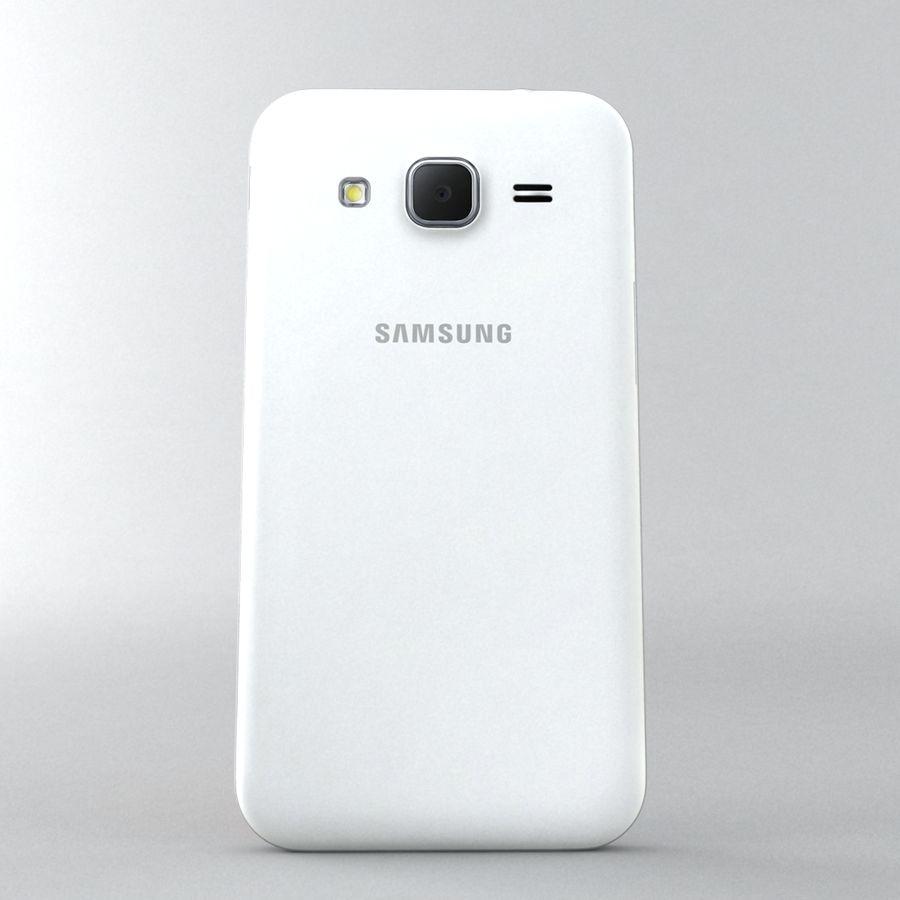 三星Galaxy Core Prime royalty-free 3d model - Preview no. 3
