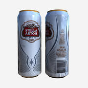 Stella Artois Beer Can 3d model