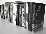 Books Group #1 3d model