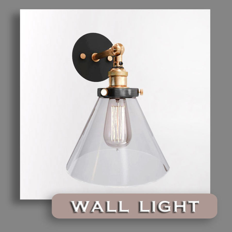 Lampa vintage royalty-free 3d model - Preview no. 2