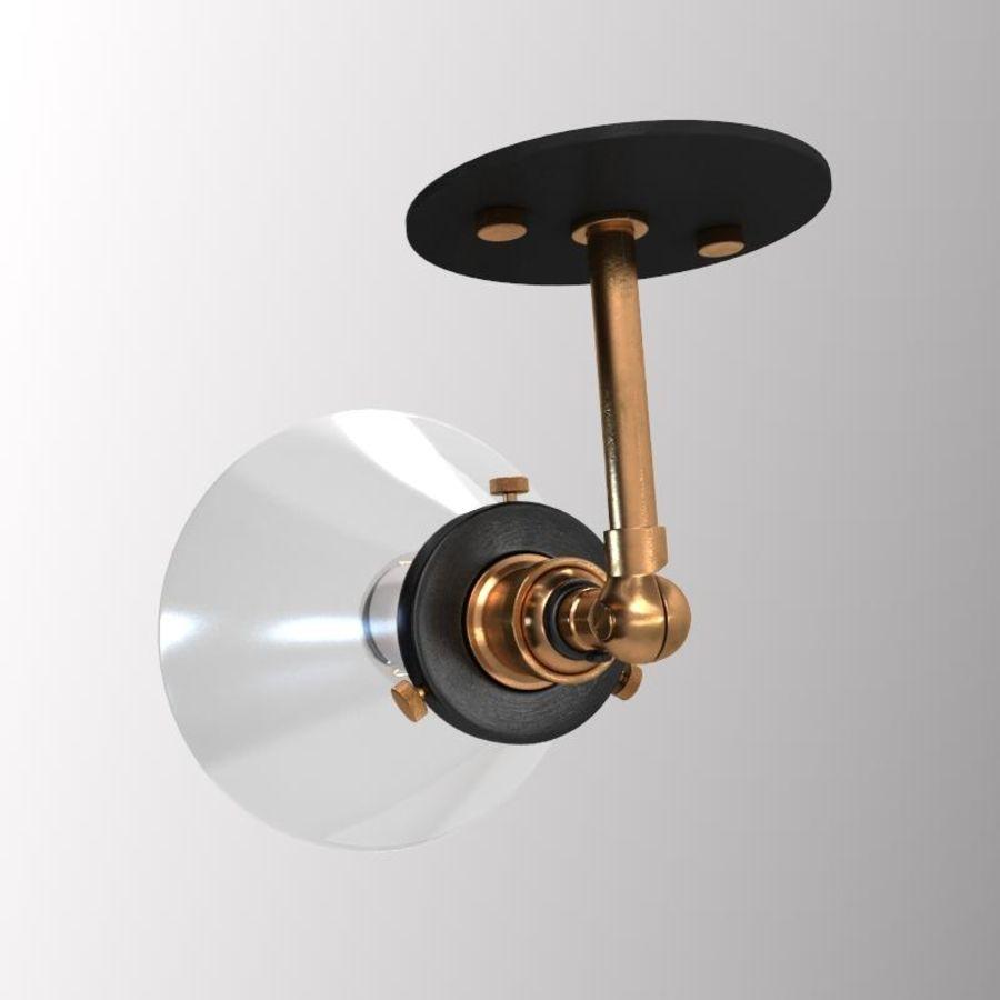 ヴィンテージランプ royalty-free 3d model - Preview no. 4
