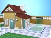 Rancho Cabin 3d model