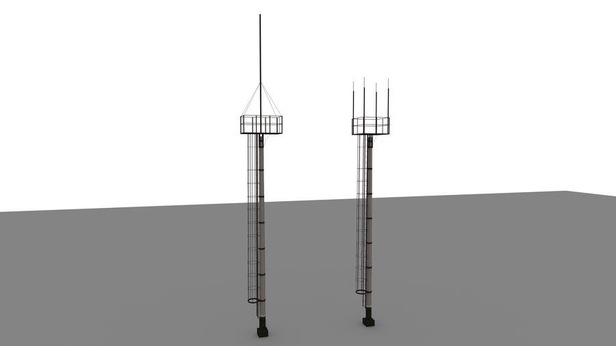 電波塔 royalty-free 3d model - Preview no. 1