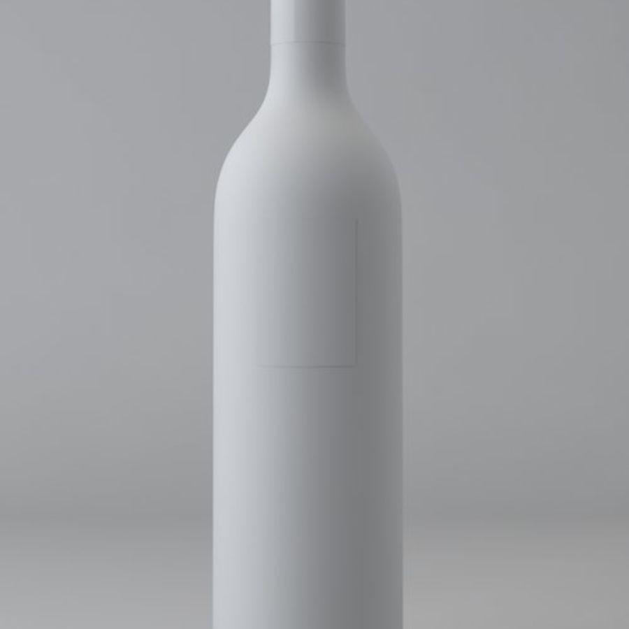 酒瓶 royalty-free 3d model - Preview no. 2