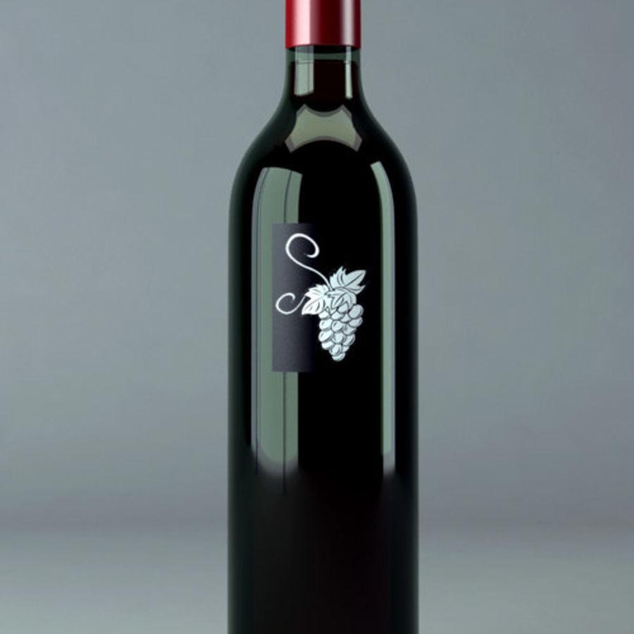 酒瓶 royalty-free 3d model - Preview no. 1