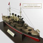 Het slagschip Potemkin 3d model