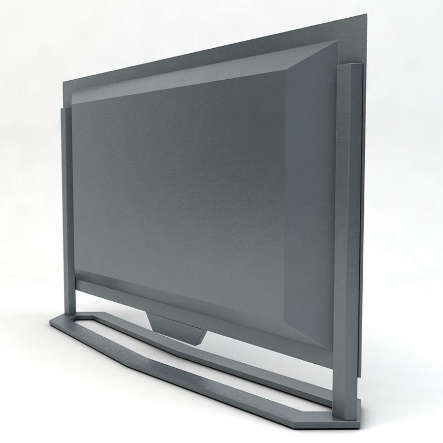 스마트 TV 03 royalty-free 3d model - Preview no. 4
