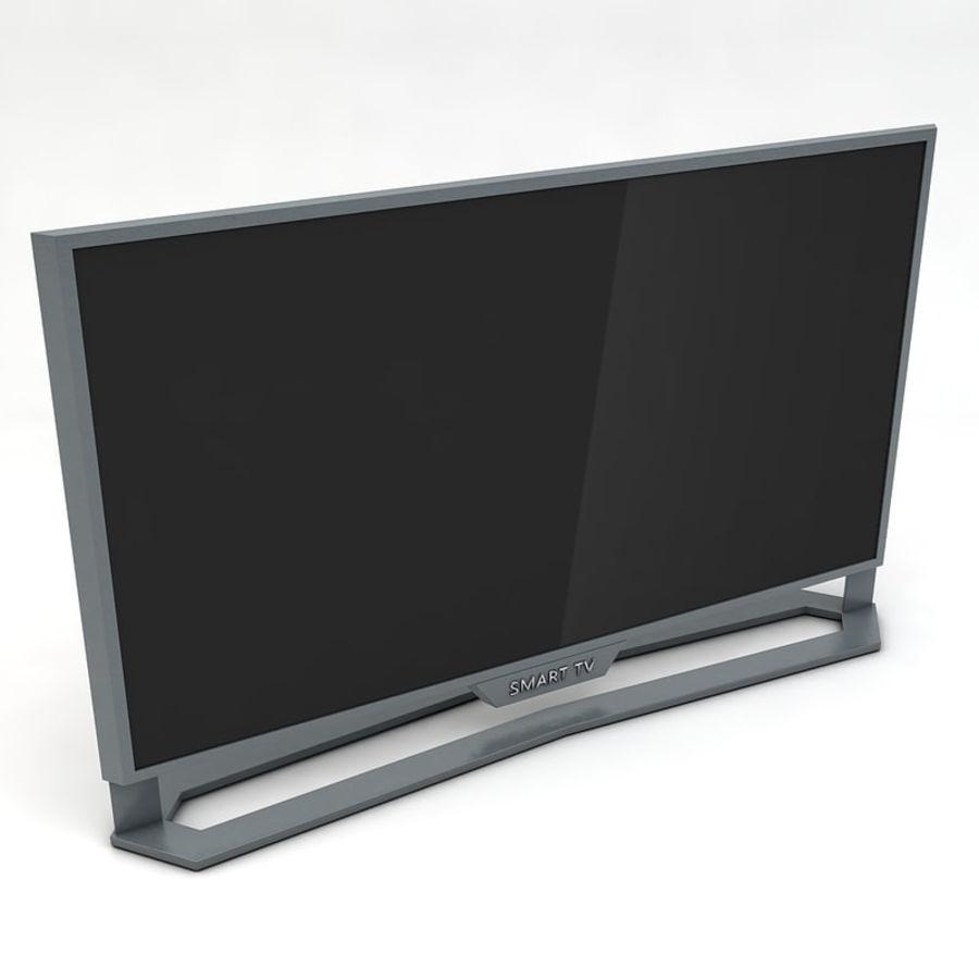 스마트 TV 03 royalty-free 3d model - Preview no. 2