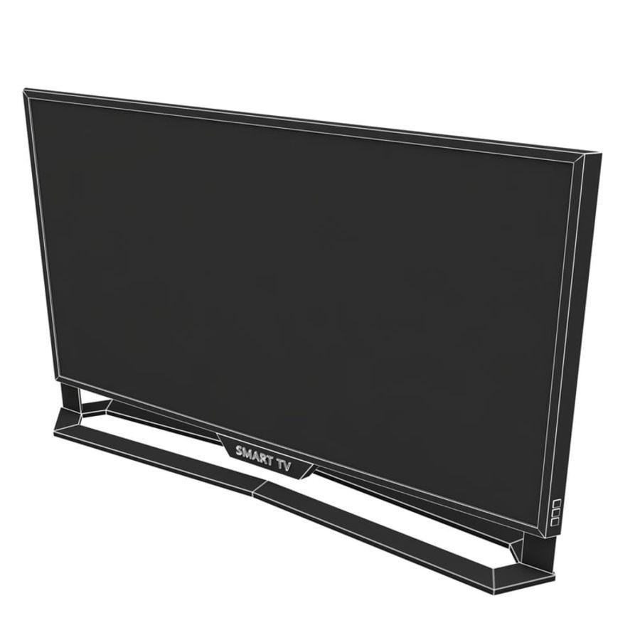 스마트 TV 03 royalty-free 3d model - Preview no. 6