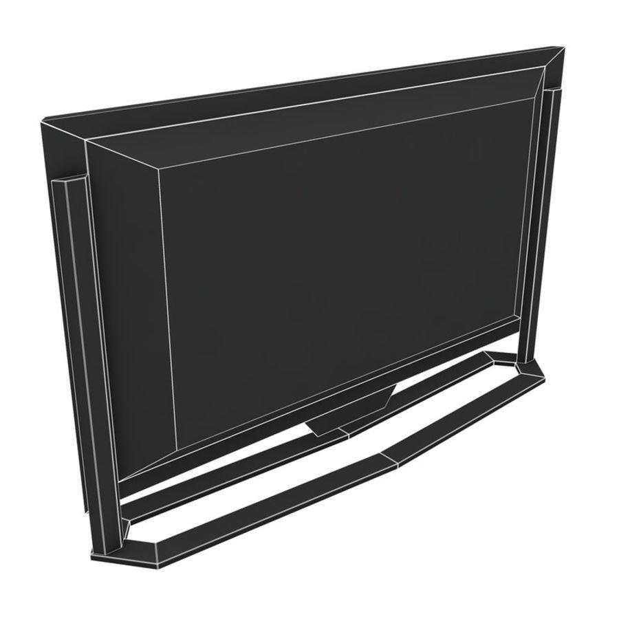 스마트 TV 03 royalty-free 3d model - Preview no. 7