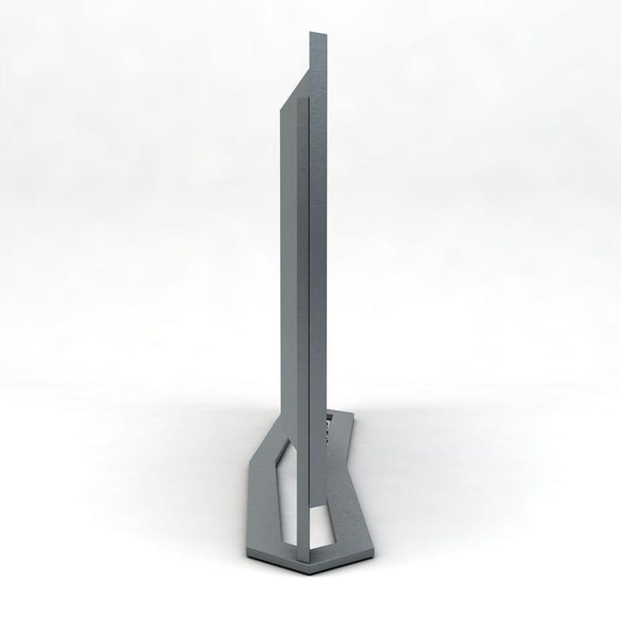 스마트 TV 03 royalty-free 3d model - Preview no. 3