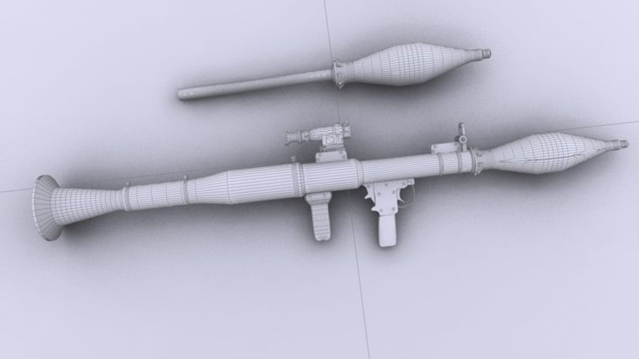 RPG-7 royalty-free 3d model - Preview no. 8