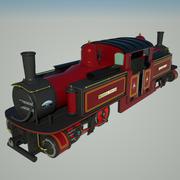 Fairlie Historic Locomotive 3d model