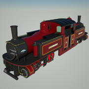 Locomotiva histórica de Fairlie 3d model