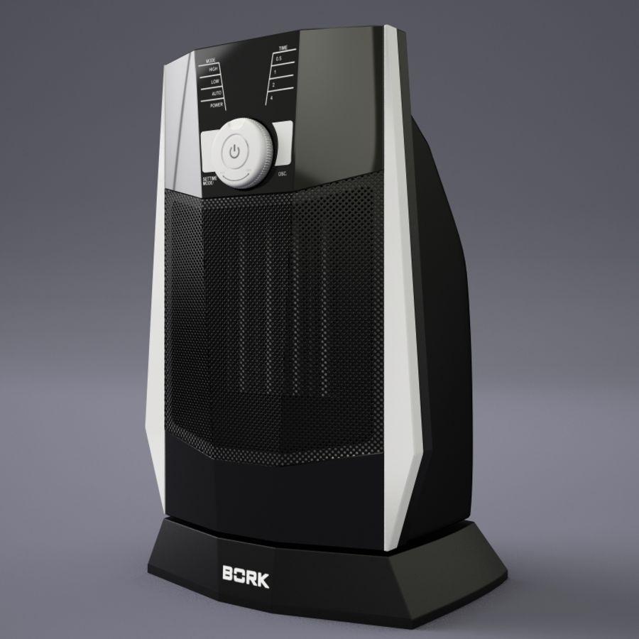 обогреватель Bork O502 royalty-free 3d model - Preview no. 2