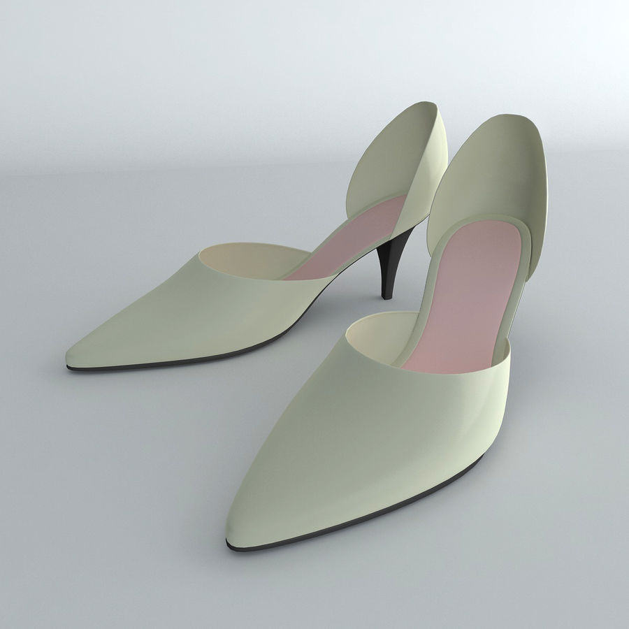 Shoes_Female royalty-free 3d model - Preview no. 1