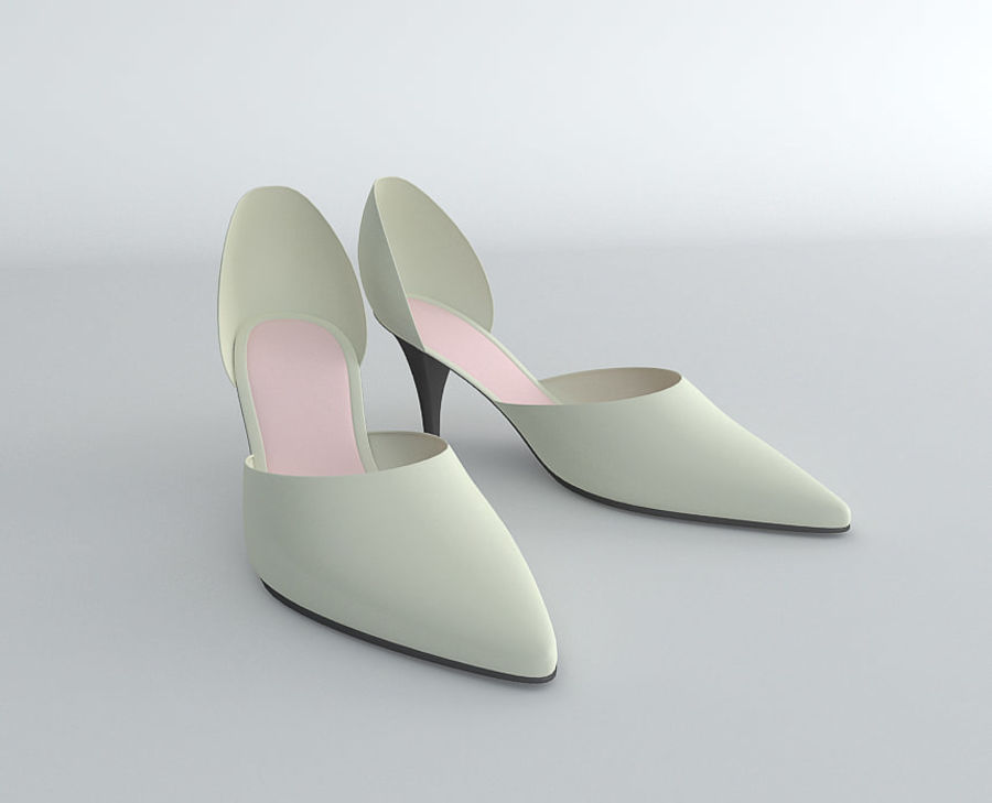 Shoes_Female royalty-free 3d model - Preview no. 2