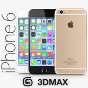 Apple iPhone 6 3DMAX 3d model
