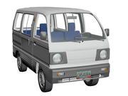 铃木Carry 1993 Van 3d model
