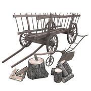 Vintage Farming Pack 1 3d model