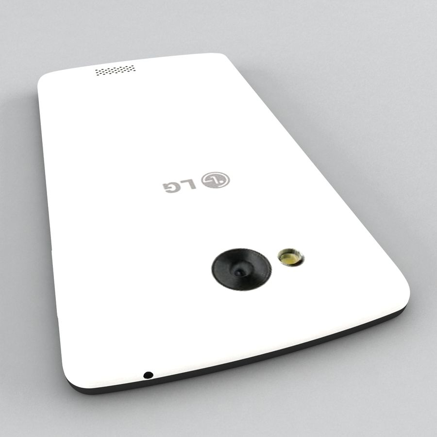 LG Tribute royalty-free 3d model - Preview no. 7