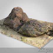 Goa Beach Stones Scan 3d model