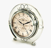 Reloj plata y oro modelo 3d